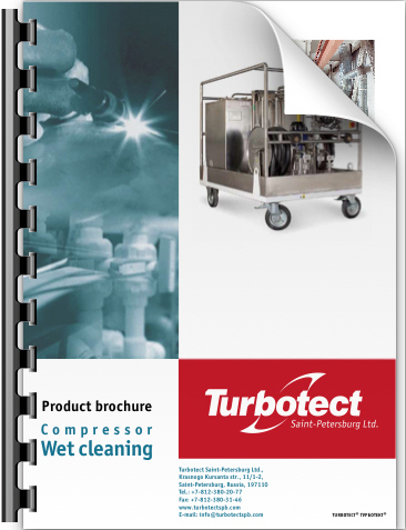 Product brochure - compressor wet cleaning