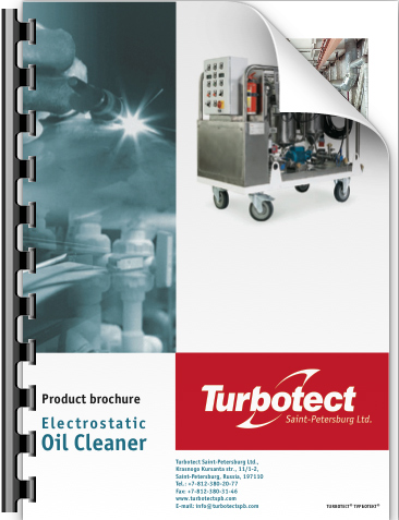 Product brochure - electrostatic oil cleaner